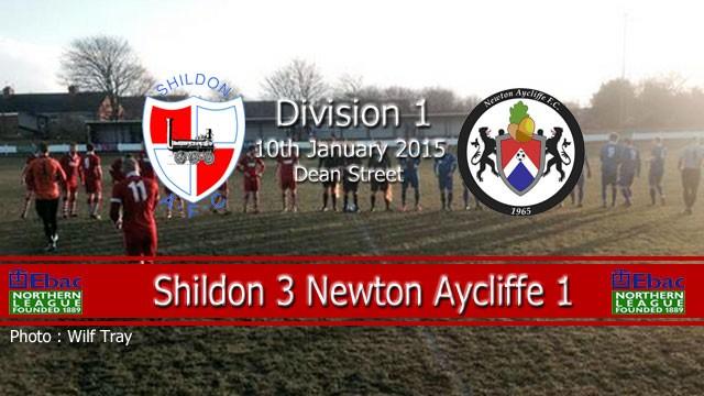 ENL1 – Newton Aycliffe Result